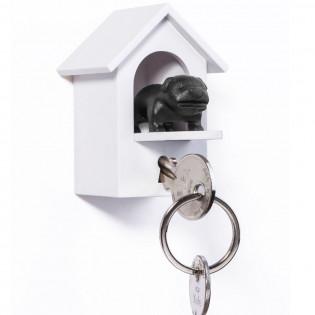 Ключница настенная и брелок для ключей Watch Dog Qualy Черная