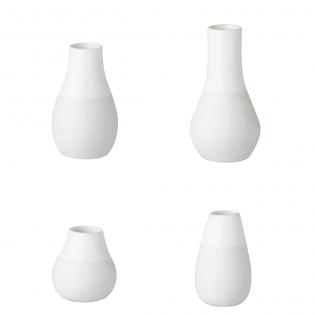Набор фарфоровых мини-ваз Mini Vase Set of 4 Raeder