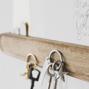 Магнитный держатель для ключей и писем Small House House Rules Raeder