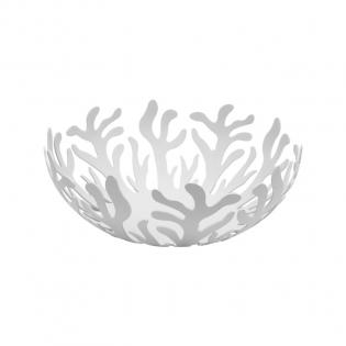 Фруктовница (ваза для фруктов) Mediterraneo Alessi 25 см Белая