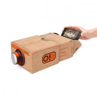 Проектор для смартфона SmartPhone Projector 2.0 Copper Luckies
