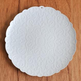 Блюдо круглое Dressed Alessi Белое