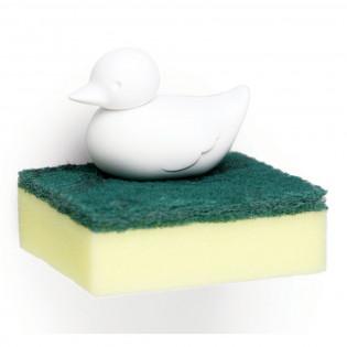 Держатель для губки Duck Sponge Qualy Белый