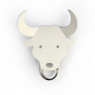 Держатель для ключей и аксессуаров Bull Qualy Белый