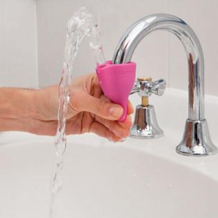 Насадка на водопроводный кран Tapi Dreamfarm Розовая