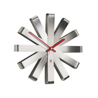 Настенные часы Ribbon Umbra Steel