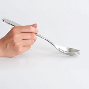 Сервировочная вилка Eat.it Alessi Полированная сталь