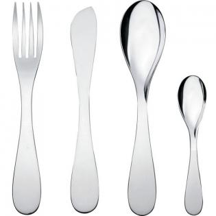 Набор столовых приборов Eat.it (24) Alessi Полированная сталь