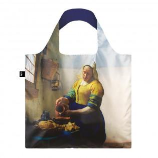 Сумка для покупок складная VERMEER The Milkmaid 1658-60 with IRMA BOOM LOQI