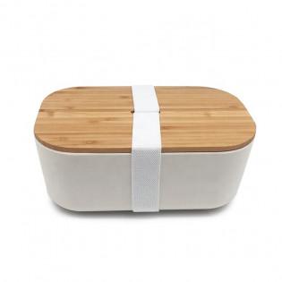 Ланч бокс из бамбука Bamboo Box Be Different Бежевый