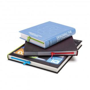 Закладка для книги Zipmark Peleg Design Синяя