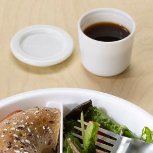 Контейнер для соуса Sauce Pot Black+Blum Белый / Зеленый