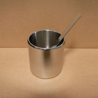 Сахарница с ложкой Nouvel Alessi Нержавеющая сталь