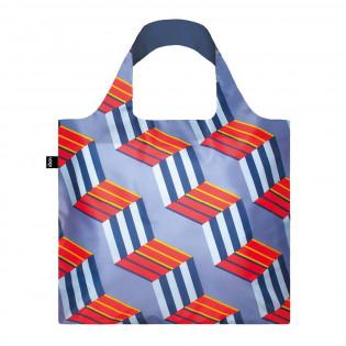Сумка для покупок складная GEOMETRIC Cubes LOQI