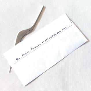 Нож для бумаги Uselen Alessi Нержавеющая сталь