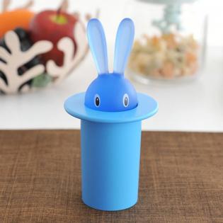 Подставка для зубочисток Magic Bunny Alessi Синяя