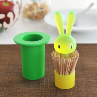 Подставка для зубочисток Magic Bunny Alessi Зеленая