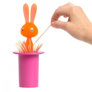 Подставка для зубочисток Magic Bunny Alessi Розовая