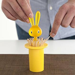 Подставка для зубочисток Magic Bunny Alessi Желтая