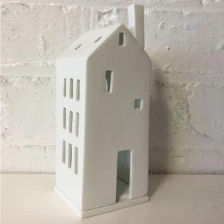 Подсвечник фарфоровый Large Door Light House Raeder