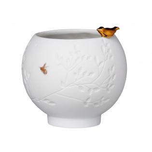 Подсвечник фарфоровый Golden Bird Porcelain Story Raeder