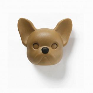 Ключница настенная Frenchy Dog Qualy Коричневая