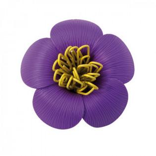 Держатель скрепок Blossom Qualy Фиолетовый
