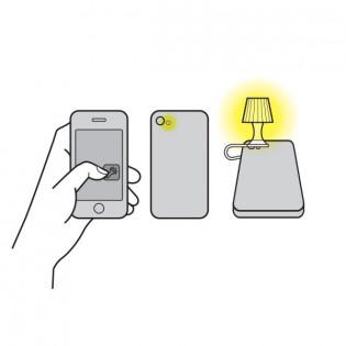Мини-ночник для смартфона Luma Peleg Design Синий