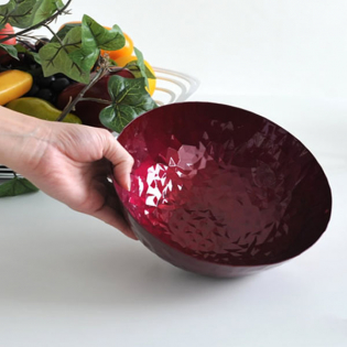 Фруктовница (корзинка для фруктов) Joy n.11 Alessi Гранатовая