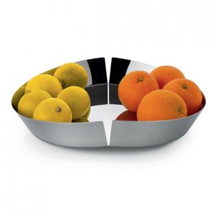 Фруктовница (корзинка для фруктов) Broken Bowl Alessi Полированная сталь