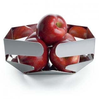 Фруктовница (корзинка для фруктов) Celata Alessi Полированная сталь