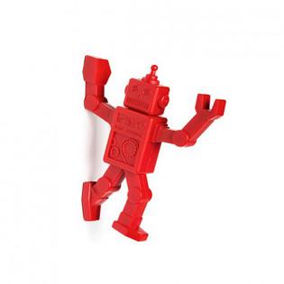 Магнитный крючок для холодильника Robohook Peleg Design Красный