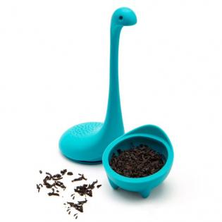 Силиконовый заварник для чая Baby Nessie OTOTO Бирюзовый