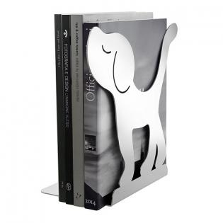 Держатель для книг (букенд) Montparnasse Dog Alessi Белый
