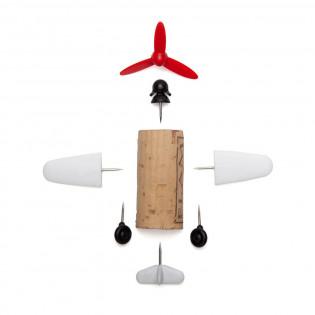 Набор украшений для пробки Plane Captain Curtis Corkers Classics Monkey Business