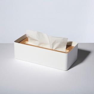Диспенсер для салфеток Rin L Yamazaki Белый