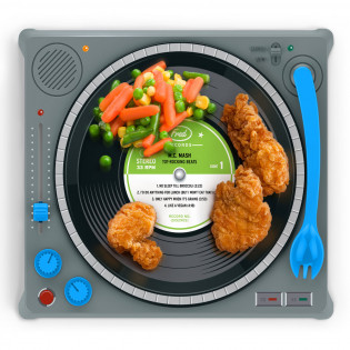 Детский набор для обеда Dinner DJ Fred and Friends