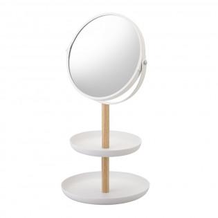 Органайзер с косметическим зеркалом Tosca Yamazaki Белый