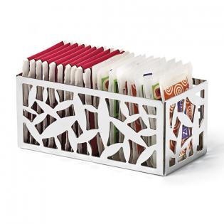 Подставка для чайных и сахарных пакетиков Cactus Alessi Нержавеющая сталь