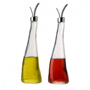 Емкость с дозатором для масла или уксуса Alessi Серебряное покрытие