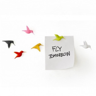 Набор магнитов Humming Bird's Message Qualy