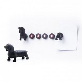 Набор магнитов Dachshund Magnet Dog Qualy
