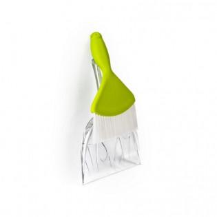 Совок и щетка для уборки Sweepie Sparrow Qualy Зеленый