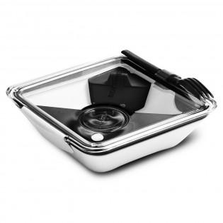 Ланч бокс квадратный Box Appetit Black+Blum Белый / Черный