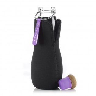 Эко бутылка стеклянная Eau Good Black+Blum Фиолетовая