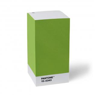 Блок для записей PANTONE Living Green 15-0343