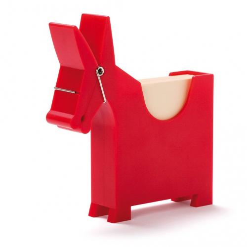 Блок для записей с держателем Morris Monkey Business Красный