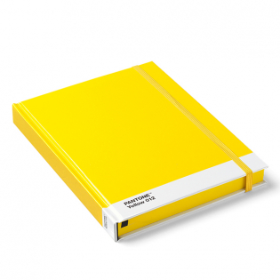 Блокнот Large PANTONE Yellow 012