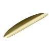 Блюдо для сервировки Ellipse Alessi Золотое покрытие (24 карата)