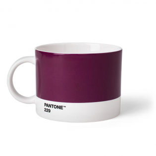 Чашка для чая PANTONE Living Aubergine 229